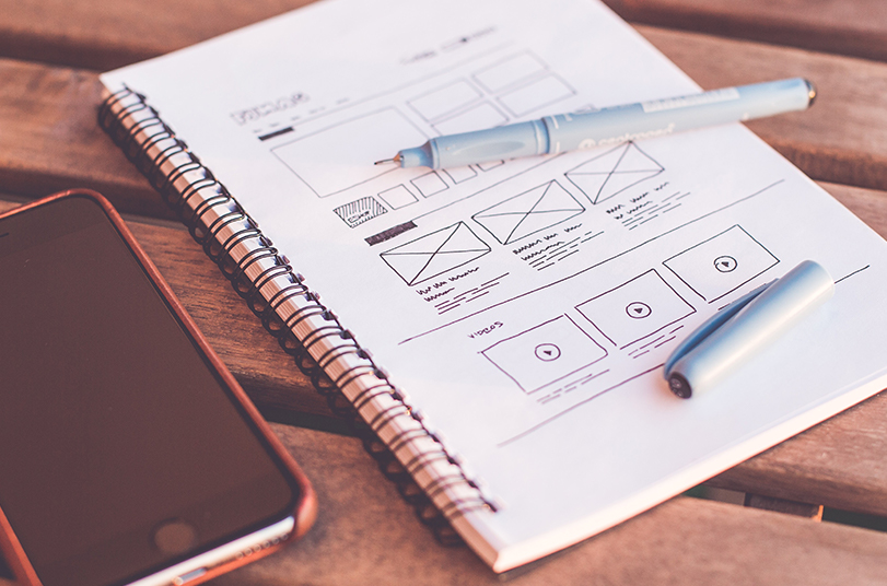 Plannning a website on Paper