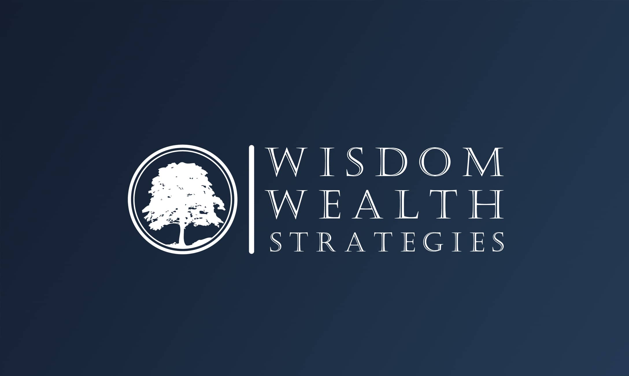 Wisdom Wealth Strategies Logo Design