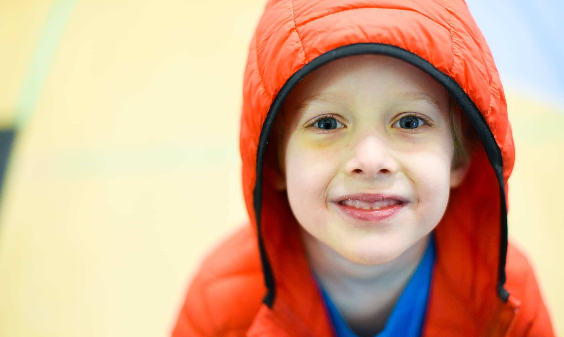 Photograph of a child from a day at school with Colorado Children's campaign
