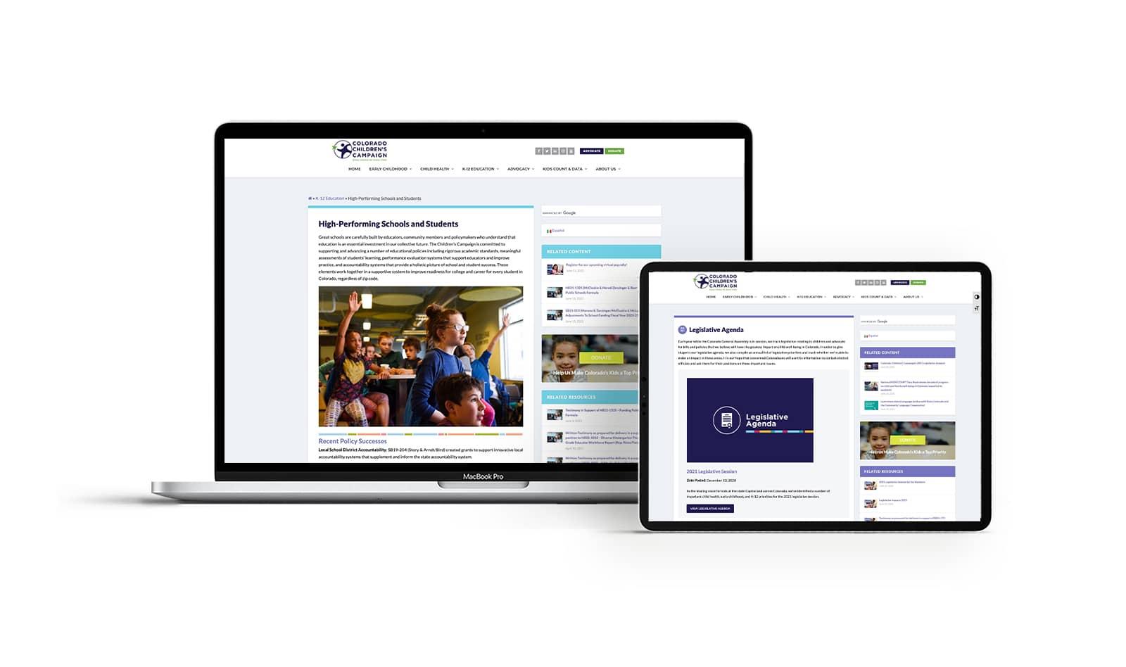 Colorado-Childrens-Campaign-Portfolio-on-devices