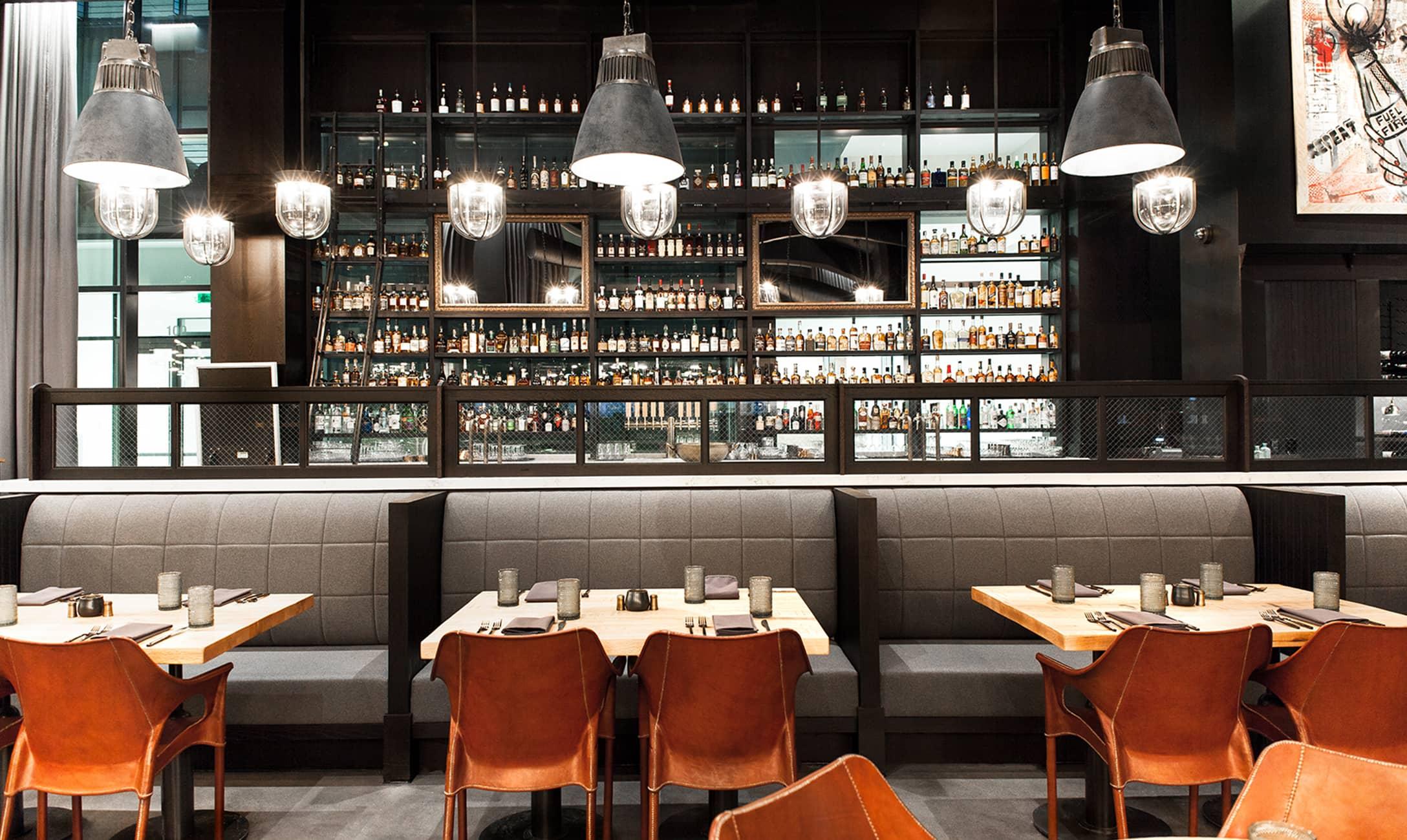 Hearth & Dram Bar interior