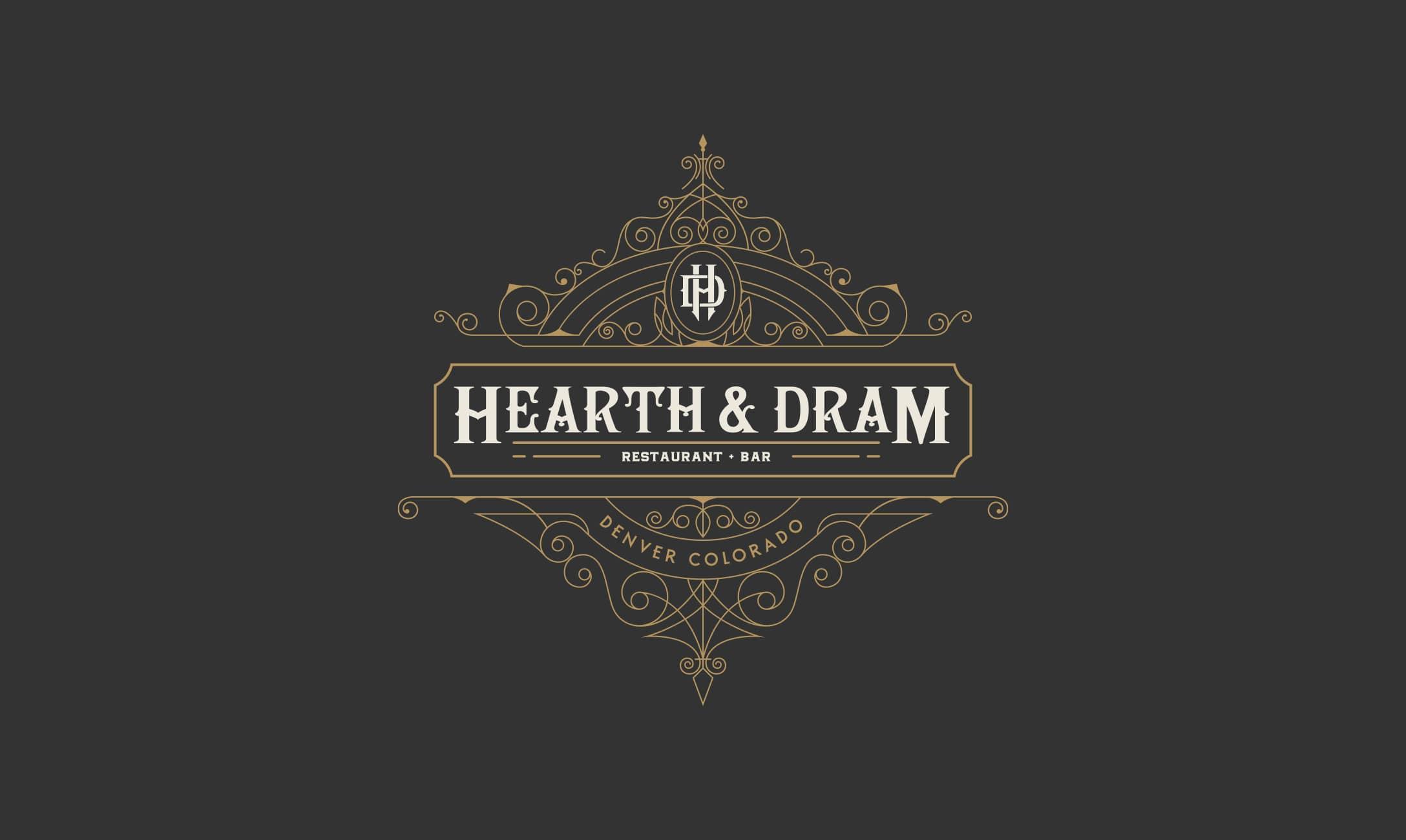 Hearth & Dram main logo